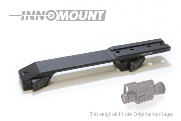 Schnellspannmontage - Weaver/Picatinny zweiteilig variabel - Pard 008 / SA Series