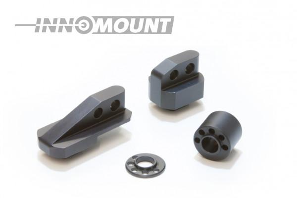 Montage Pivotant - Fermeture à levier 15mm Prisma - Dedal Hunter
