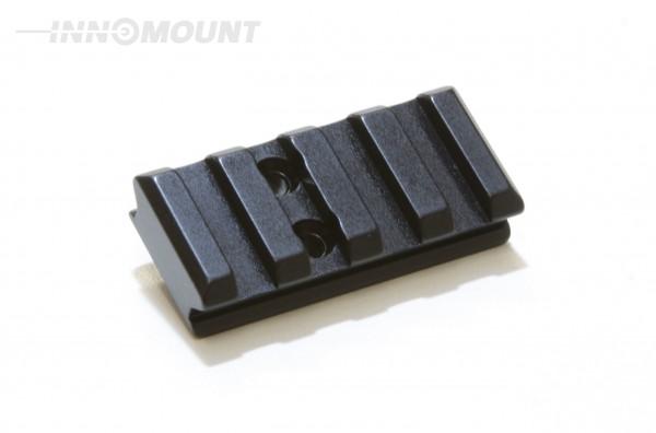 Adapter mit Universalschnittstelle - Picatinny - 10mm