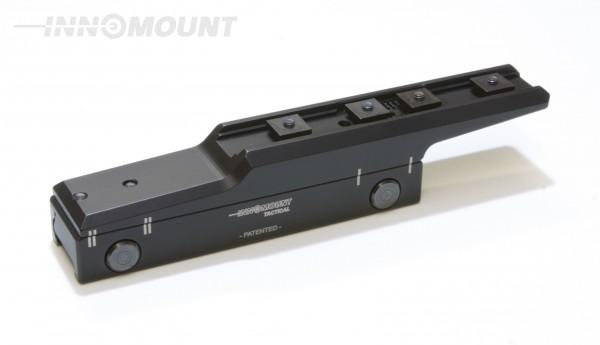 Taktische Festmontage Flex offset - Swarovski - BH 24mm