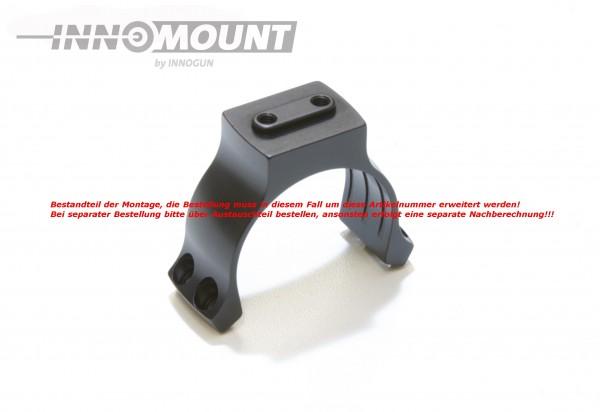Ringoberteil mit Universalschnittstelle - Ring 34mm - Ausrichtung 90°