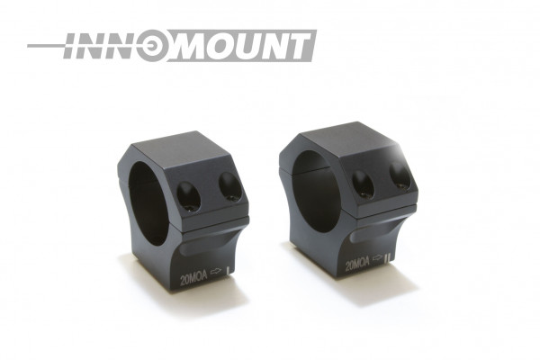 Ringpaar Tactical - ohne Universalschnittstelle - Ring 30mm - 20-40-MOA
