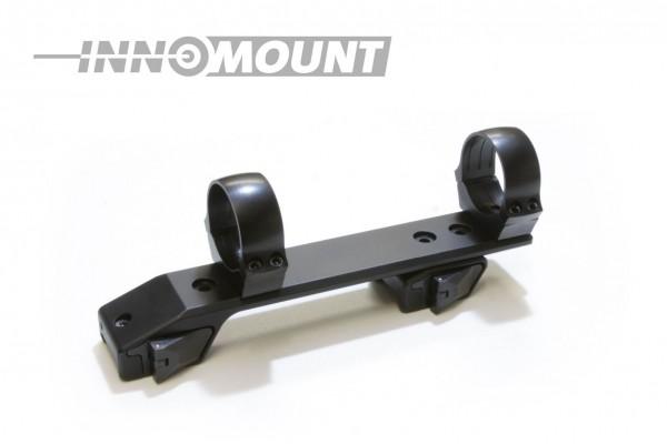 Schnellspannmontage - Weaver/Picatinny zweiteilig variabel - Ring 40mm BH+6