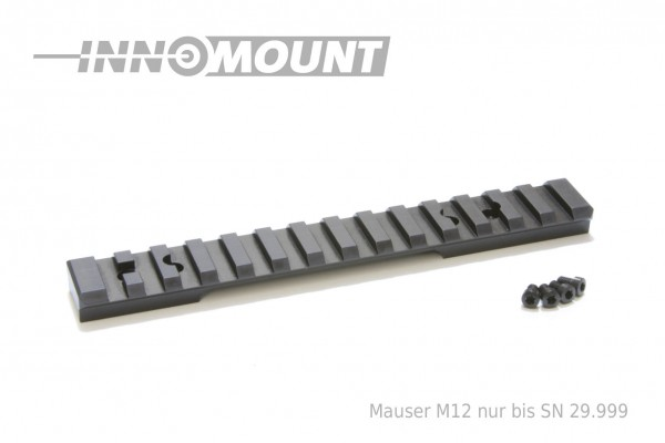 Picatinnyrail - Mauser Mod. M12 from SN 29.999