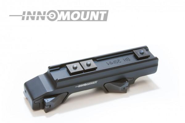 Quick release mount for Blaser - Swarovski - 20mm