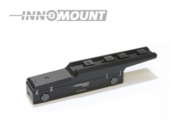Taktische Festmontage Flex offset - Swarovski - BH 24mm - 20MOA