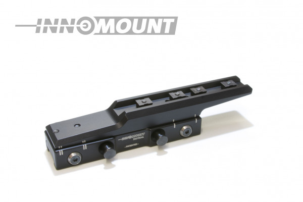 Tactical quick release mounting Flex offset - Zeiss - 23mm