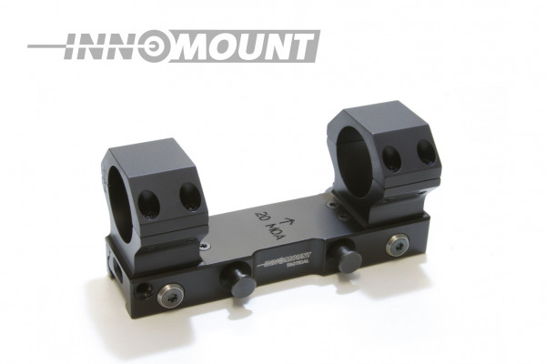 Tactical quick release mounting - ring 34mm - BH 16mm - 20MOA