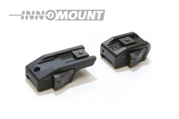 Quick release mount for Weaver/Picatinny - two piece - Swarovski