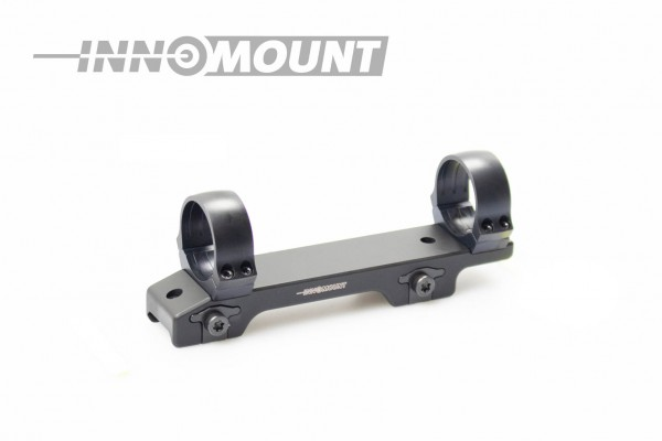 Fixed mount for Weaver/Picatinny - Offset 25mm - ring 34mm BH +3