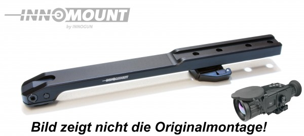 Brückenschwenkmontage - 15mm Prisma - I Ray Xsight (Liemke Sperber 50 & 64 / Lahoux Scope)
