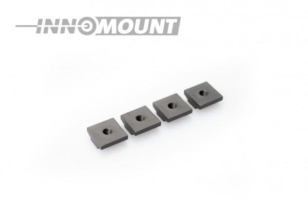 Sparepart set of eight ring screws
