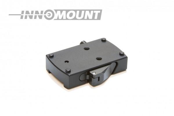 Quick release mount for Tikka T3 - slight - Docter sight
