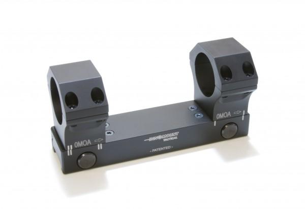 Taktische Festmontage Flex - Ring 30mm - BH 23mm - 0-20MOA
