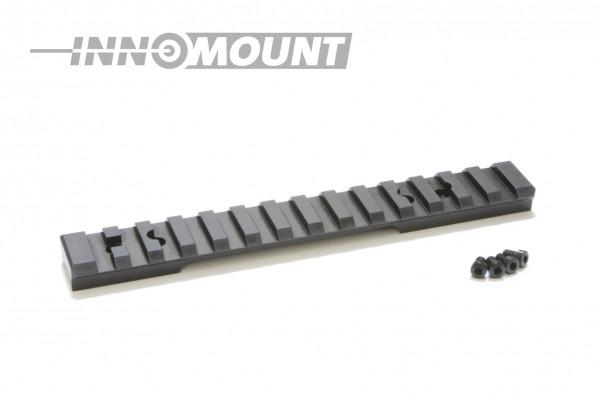 Picatinnyrail - für Mauser Mod. K98 (ohne Wulst) - 20MOA