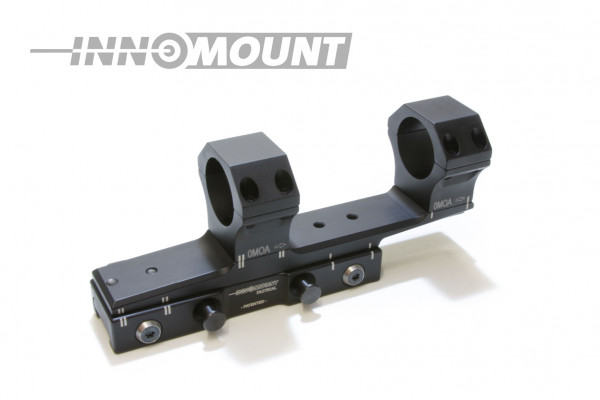 Tactical quick release mount Flex offset - ring 34mm - BH 32mm - 0-20MOA