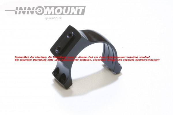 Ringoberteil mit Universalschnittstelle - Ring 30mm - Ausrichtung 45°