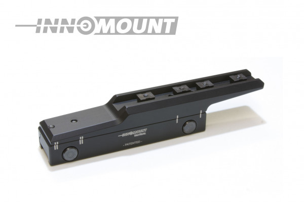 Tactical fixed mounting Flex offset - Zeiss - BH 23mm - 20 MOA