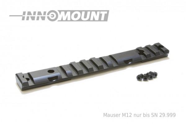 Multirail - Picatinny - für Blaser - Mauser Mod. M12 bis SN 29.999