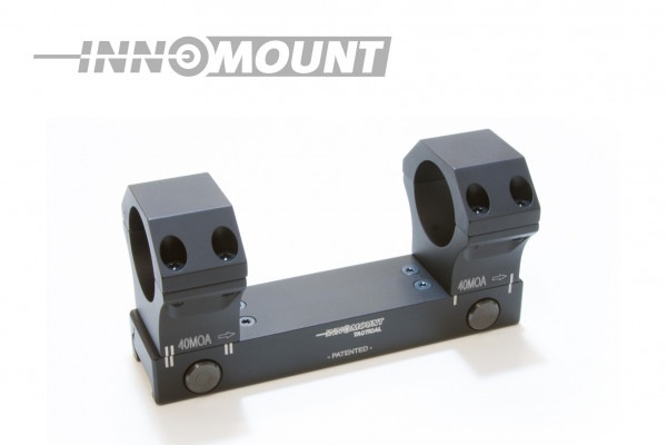 Tactical fixed mounting Flex - ring 34mm - BH 21mm - 20-40MOA