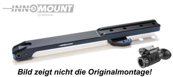 Brückenschwenkmontage - 15mm Prisma - I Ray Mini (Liemke Merlin 19E/25E)